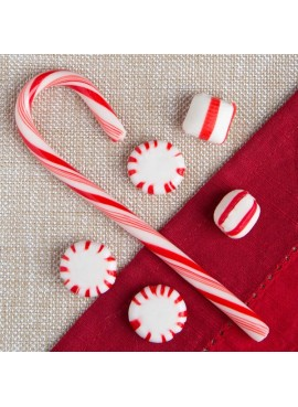 Candy Cane Flavored Psyllium Fiber Sweetened with SweetenFX