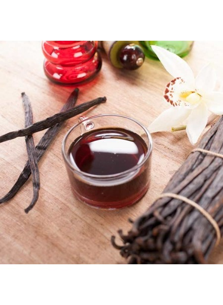 Vanilla Extract Without Diacetyl - Fruit Sugar Added (2x Fold), Organic