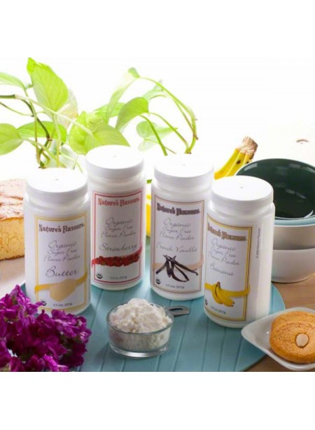 Organic Flavor Powder Sample Pack (Sugar-free & Calorie-free)