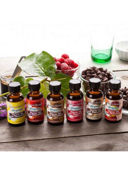 Organic Flavor Oil for Chocolate Sample Pack