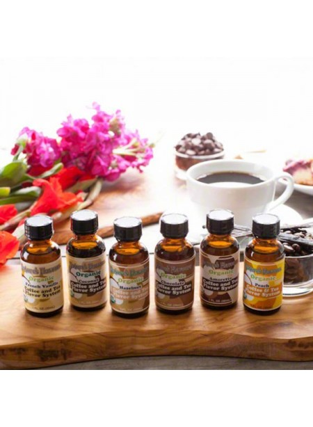 Organic Coffee & Tea Flavoring Sample Pack
