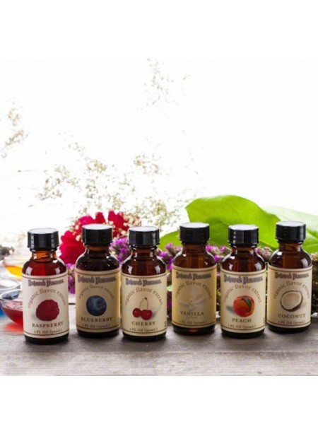 Organic Flavor Extract Sample Pack