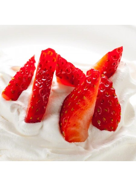 Strawberry Cream Flavor Extract, Organic