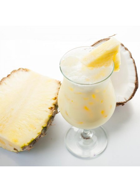 Pina Colada Flavor Emulsion for High Heat Applications
