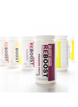 REBOOST Organic Passion Fruit Isotonic Energy Drink Powder