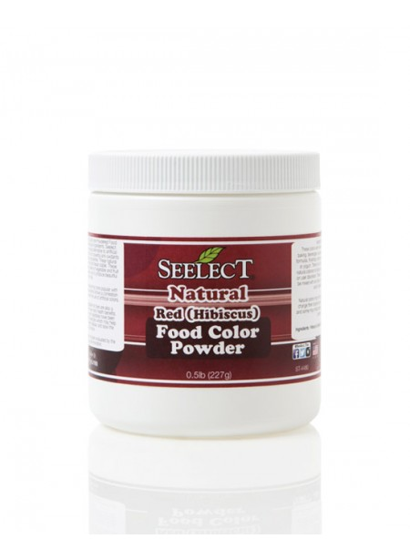 Blue-Red Food Coloring Powder (Made with Hibiscus), Natural