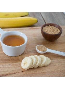 Banana Foster Flavor Emulsion for High Heat Applications