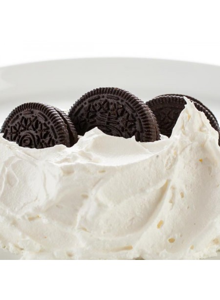 Cookies and Cream Flavor Emulsion for High Heat Applications