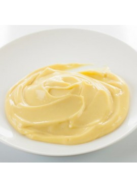 Custard Flavor Emulsion for High Heat Applications