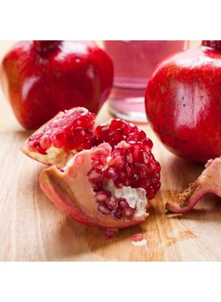 Pomegranate Flavor Emulsion for High Heat Applications
