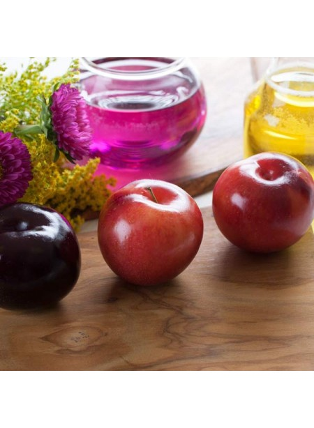 Plum Flavor Emulsion for High Heat Applications