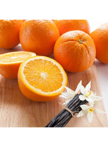 Organic Orange Vanilla Flavor Concentrate Without Diacetyl