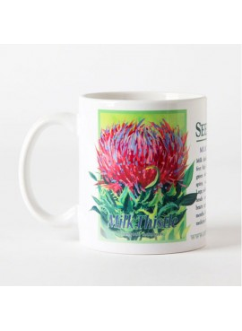Coffee and Tea Mug - Milk Thistle