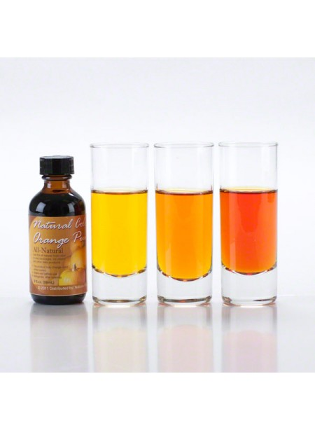 Pumpkin Orange Food Coloring, Natural made with Edible Flowers
