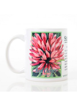 Coffee and Tea Mug - Red Clover