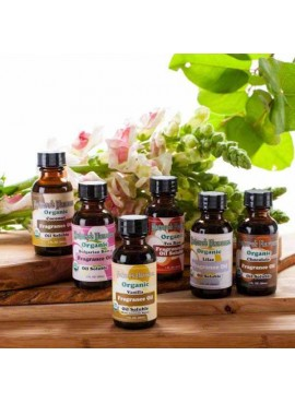Nature's Flavors Sample Pack of Organic Fragrance Oils (Oil Soluble)