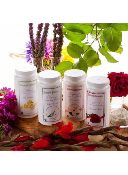 Nature's Flavors Sample Pack of Organic Fragrance Powders