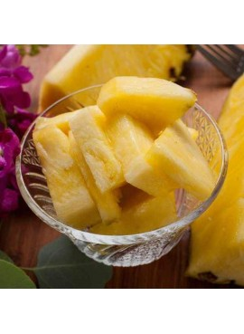 Organic Pineapple Filling, Topping and Variegate (Vegan, Kosher, Gluten-Free, Lactose-Free)