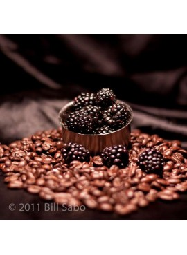 Organic Decaf Blackberry Flavored Coffee Beans (Shade Grown, Organic)