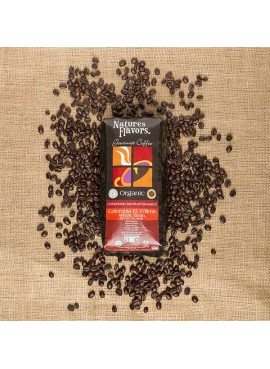 Organic Colombian Coffee Beans - Colombia El Tolima (Shade Grown, Rainforest Alliance, Organic, Roasted)