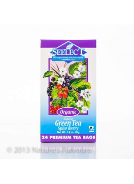 Organic Green Tea - Spice Berry (24 Tea Bags)