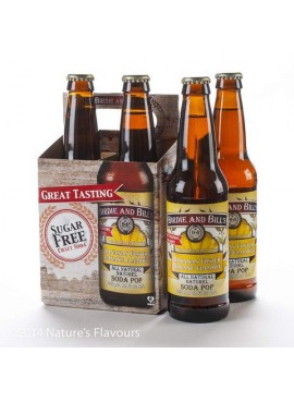 Bananas Foster Soda Birdie and Bill&#39s (4 Pack)