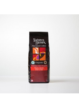 Organic Black Cherry Flavored Coffee Beans (Shade Grown, Micro Roasted, Organic)