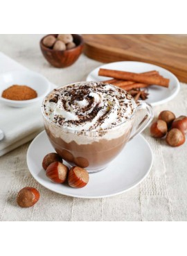 Organic Hazelnut Hot Chocolate Mix (Non Dairy, Lactose free, Gluten-Free, Kosher, Vegan)
