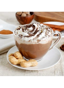 Organic Peanut Butter Hot Chocolate Mix (Non Dairy, Lactose free, Gluten-Free, Kosher, Vegan)