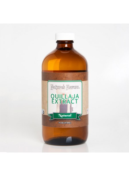 Quillaja Extract Natural (Vegan, Gluten Free, Kosher) A powerful foaming agent.