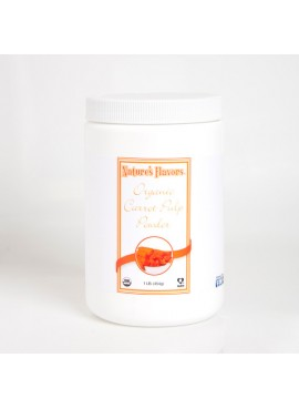 Organic Carrot Pulp Powder
