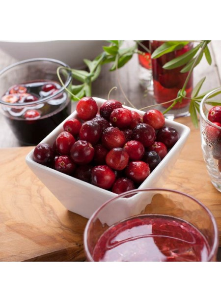 Cranberry spring water flavor and drops, Organic