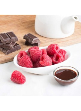 Chocolate Raspberry Flavor Oil For Chocolate (Kosher, Vegan, Gluten Free, Oil Soluble)