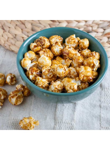 Caramel Corn Flavor Oil for Lip Balm (Organic, Kosher, Vegan, Gluten Free, Oil Soluble)