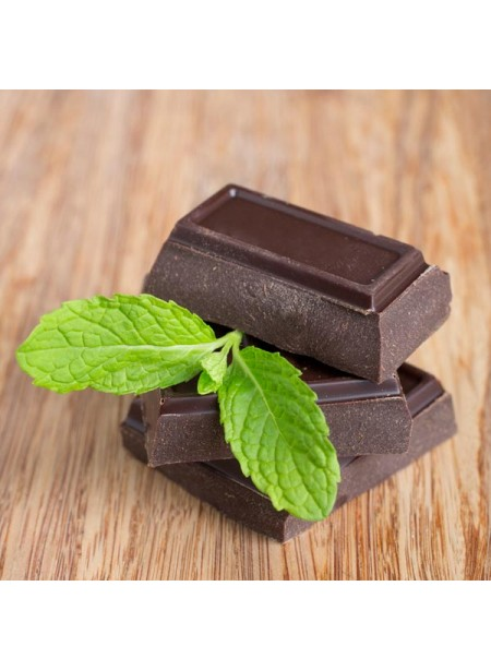 Chocolate Mint Flavor Oil for Lip Balm, Organic