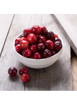 Cranberry Flavor Oil For Chocolate (Organic, Kosher, Vegan, Gluten Free, Oil Soluble)