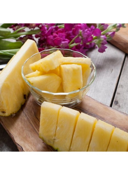 Pineapple Flavor Oil For Chocolate (Organic, Kosher, Vegan, Gluten-Free, Oil Soluble)