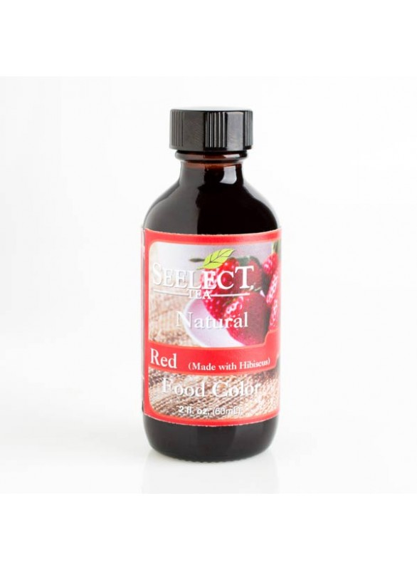 Red Food Coloring (Made with Hibiscus) | Natural | Natures Flavors