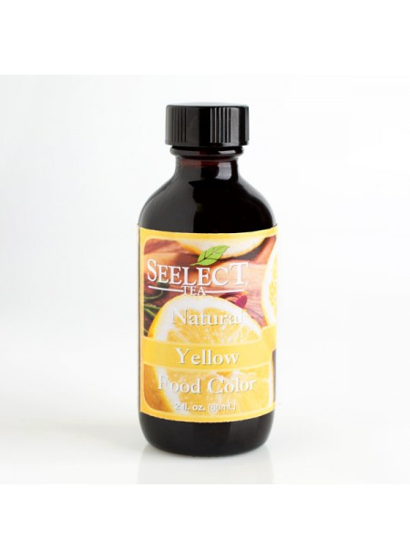 Yellow Food Coloring (Made with Edible Flowers), Natural
