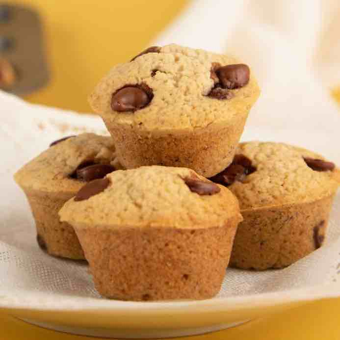 Banana Rum Chocolate Chip Muffins