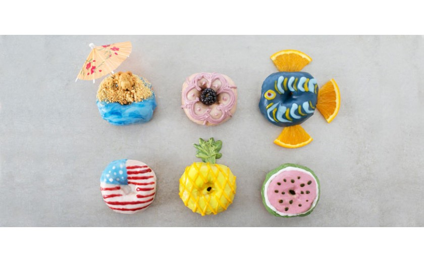 Half a Dozen of the Summer's Cutest Donuts
